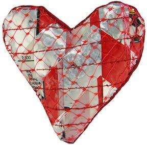 Rara Heart Brooch