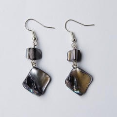 TBP blk Natural-Cut-Mother-of-Pearl-Earrings