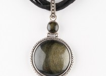 TBP agate n suede necklace1