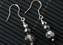 TBP crystal n gunmetal earrings1