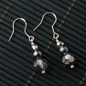 TBP crystal n gunmetal earrings1