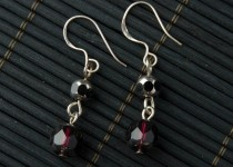 TBP plum crystal earrings1