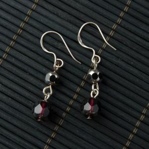 TBP plum crystal earrings1