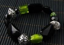 TBP blk onyx stretch bracelet