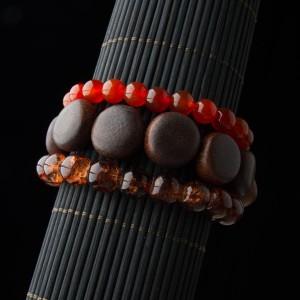 TBP multi wood bracelet