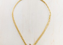 tbp-gold-toned-multi-chain-w-galss-circle-pendent-necklace